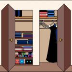 Ordnung im Kleiderschrank - Wie Sie aussehen sollte