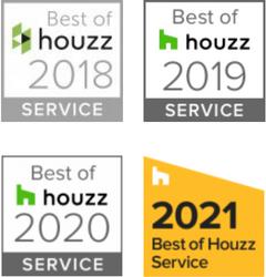 Best of houzz Auszeichnungen 2018-2021